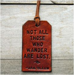 Custom stamped Leather Luggage Tags from OfTheFountain Etsy shop  - // Emily Henderson — Stylist - BLOG - 29 Best Father's DayGifts
