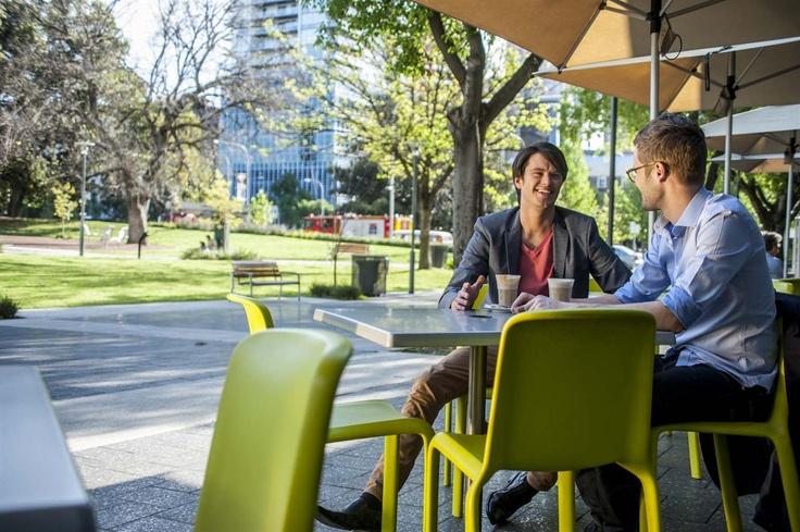 Alfresco dining at Crowne Plaza Adelaide