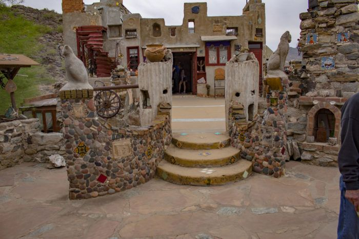 Built with love, the Mystery Castle in Phoenix, Arizona is a truly unique place.
