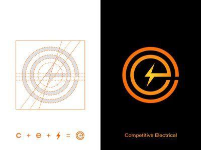 Competitive Electrical Design Logo Identity Development