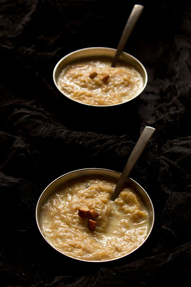 vermicelli kheer - easy recipe to make seviyan kheer and gets done in 20 minutes. step by step recipe.