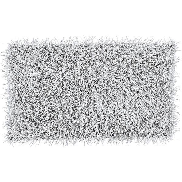 Aquanova Taro Bath Mat - Cool Grey - 70x120cm found on Polyvore featuring home, bed & bath, bath, bath rugs, grey, gray bathroom rugs, grey bathroom rugs, gray bath mat and grey bath mat