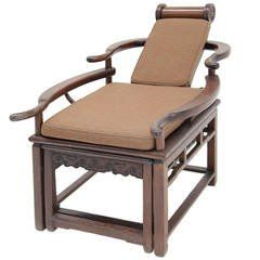 Exceptional Asian Recliner or Deck Chair, circa 1900  - 1910