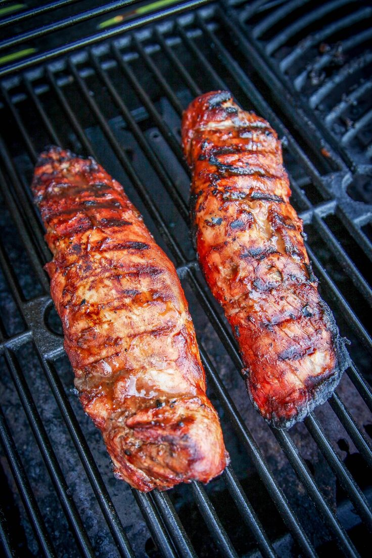 Grilled BBQ Pork Tenderloin Recipe