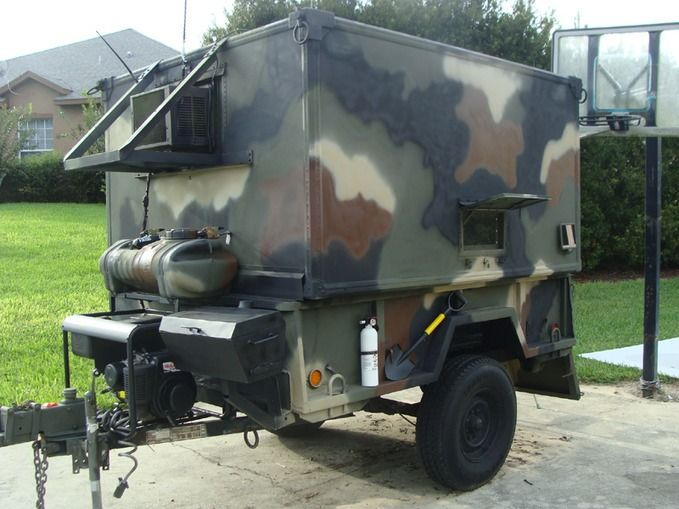 Luxury Starting With Plans From Big Woody, He Made A Highlyportable Teardrop Camper In A Military Theme Steve Whelan Took A Set  The Camper Is Based On The Big Woody 4 By 8 Trailer Plans, And Has All The Basics Youd Need For A Few Days