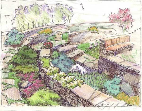14 best Lets Sketch images on Pinterest Landscape architects