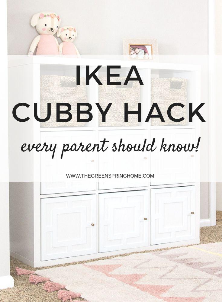 Applique IKEA Kallax Hack