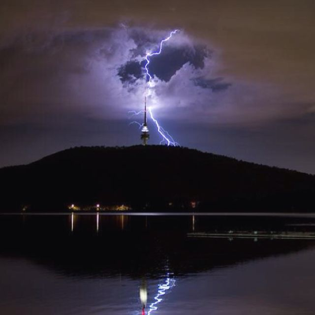 Telstra Tower strike Canberra | Canberra - My Hometown ...