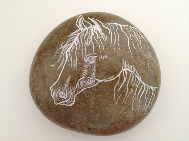 Slate Stone Julie : Best images about painted rocks horses on pinterest