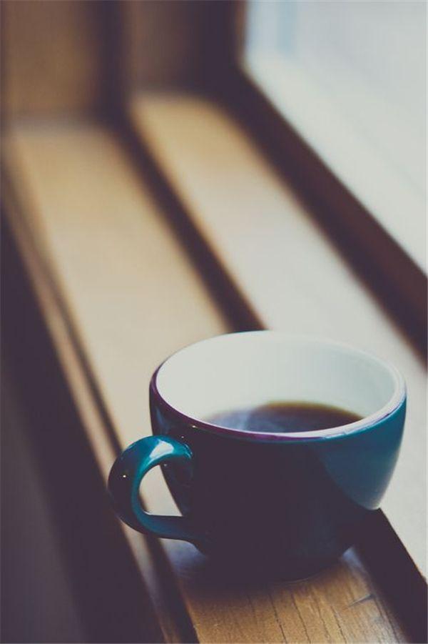 a good coffee....