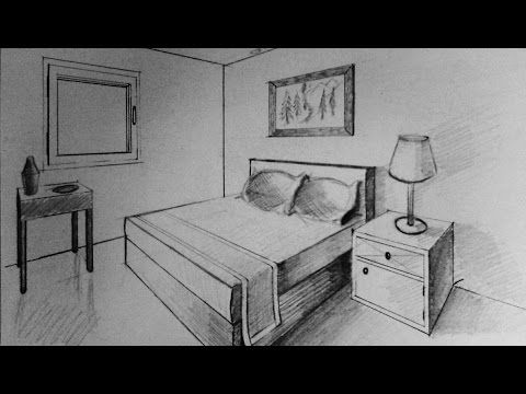 1000 images about art projects perspective on pinterest for Bedroom 2 point perspective