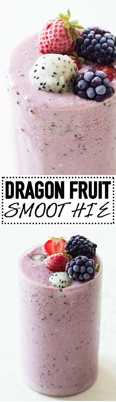 Dragon fruit is a low-calorie fruit, high in fiber and packed with vitamin C. A dragon fruit smoothie is a great way to add dragon fruit into your diet. via @greenhealthycoo
