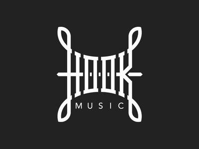 Hook Music por Jonas Söder #logodesign #branding