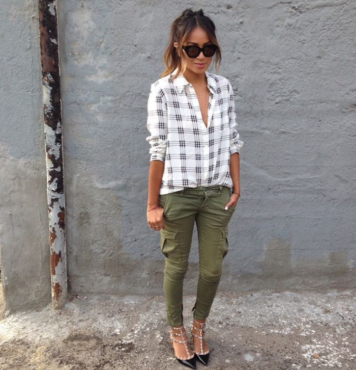 1000+ images about Skinny green cargo pants outfits on Pinterest | Skinny cargo pants Old navy ...