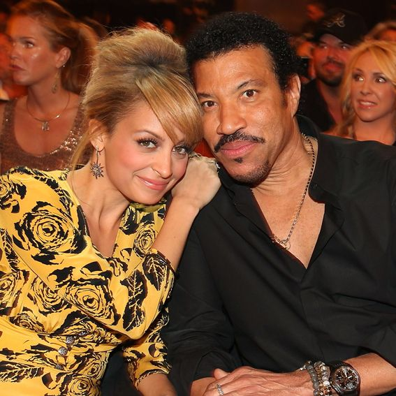 """NICOLE AND LIONEL RICHIE According to singer Lionel Richie, his daughter, mother of two Nicole Richie, is """"fabulous ... I tell you, she's doing exactly what you're supposed to do ... she's living her life,"""" he told People. The '80s singing sensation adopted Nicole when she was two—and is now a proud grandfather to her two children, Harlow and Sparrow."""