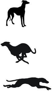 Image result for lino print dogs lurcher