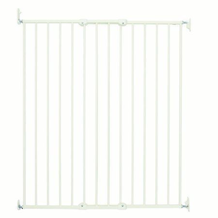BabyDan Pet Streamline Extra Tall Wall Mounted Gate (24.8 - 42 inch) - White