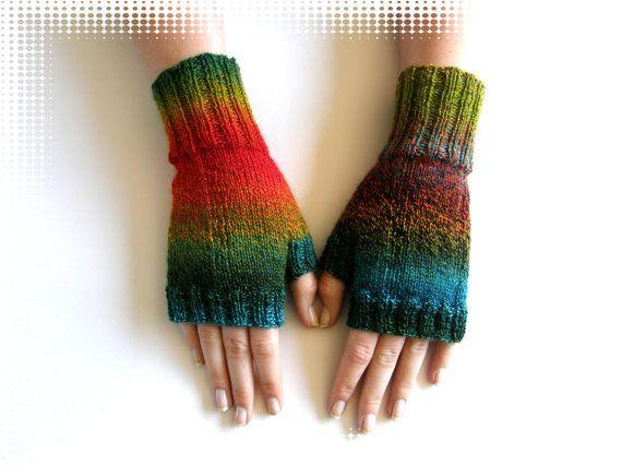 Vingerloze wanten  handschoenen Schoppel door Carolinevantveer