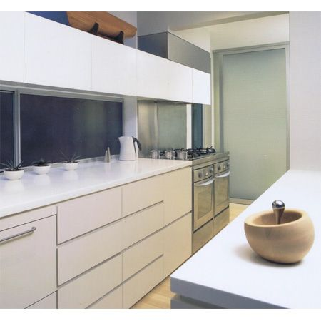 One of our many award kitchens. Proud this one also appeared on a Laminex brochure.