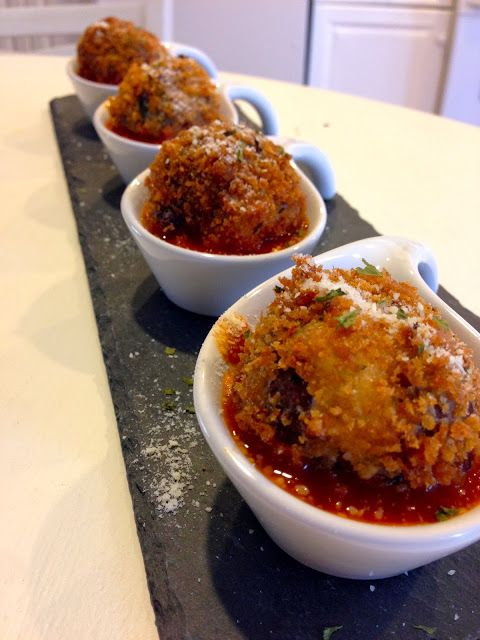 Kiss My Apron: Fried Meatballs - A recipe created in my dream, literally!