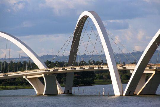 Pont Kubitscheck - Brasilia - Brésil