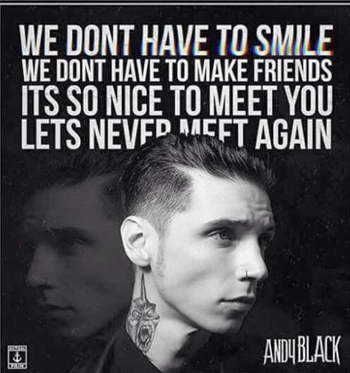 Andy Black. We Don't Have To Dance.>>> love this song