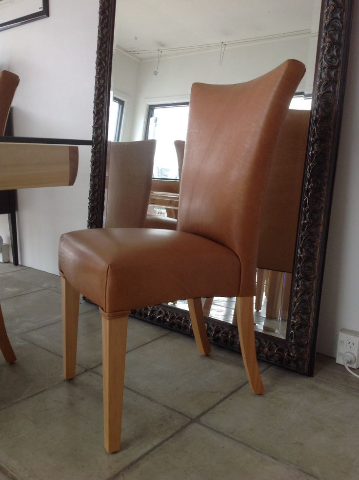 Eden Dining chair in leather