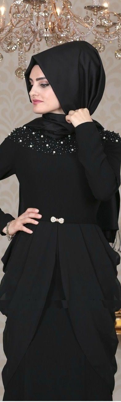 Sema Şimşek Matmazel Elbise Siyah