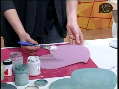 #Manidilara i nuovi colori Chalk Paint effetto shabby e provenzale con t...