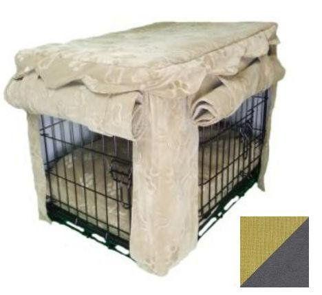 side door dog crate cover 2