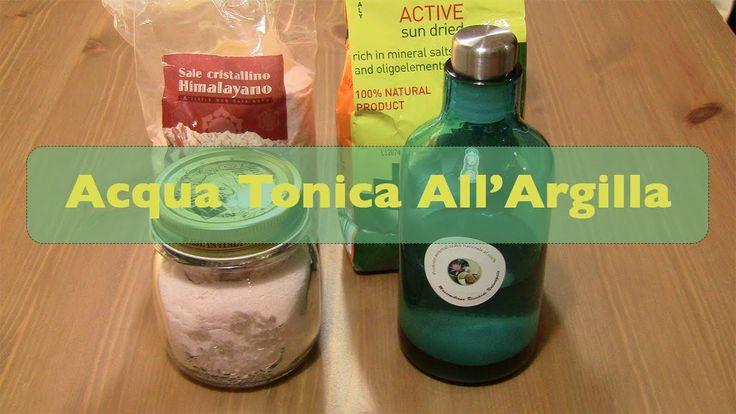 Acqua Tonica All'Argilla