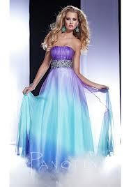 Purple Teal Ombre Dress These Would Be Awesome Just Wish A Nicer Sash And Wedding Pinterest