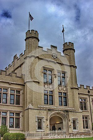 Dramatic overcast skies at the College of Wooster, Ohio