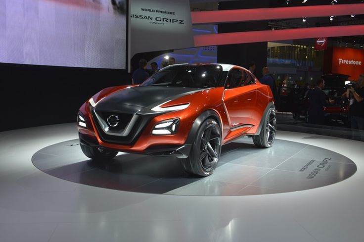 The Frankfurt Motor Show has played host to some fascinating SUVs and while there's been some sporty examples, few can match the out-and-out high-riding sports car stylings of Nissan's Gripz Concept.