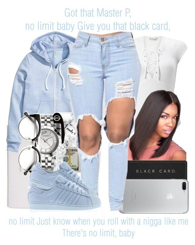 """No Limit x Usher ft. Young Thug"" by juicyums ❤ liked on Polyvore featuring Miss Selfridge, Yves Saint Laurent, H&M and adidas"