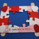 Valentine's Day Puzzle Picture Frame!