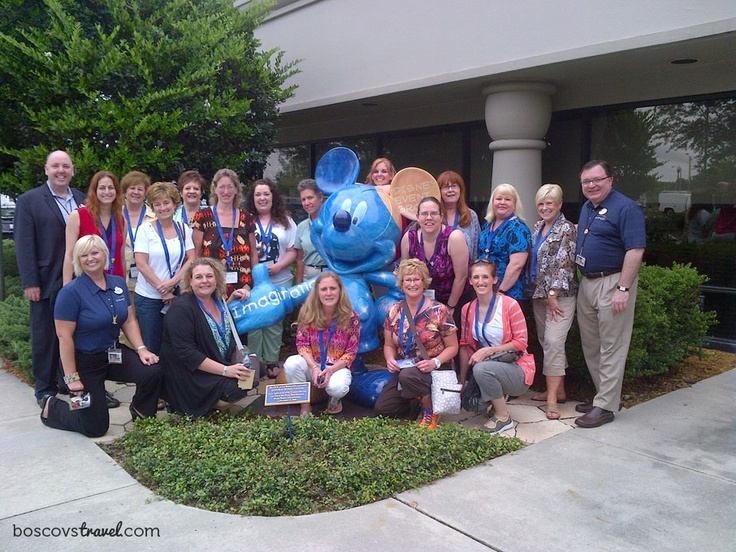 Check out our agents getting to know #Disney on their latest trip! Always traveling, always learning to make your vacation the best it can be! #Travel