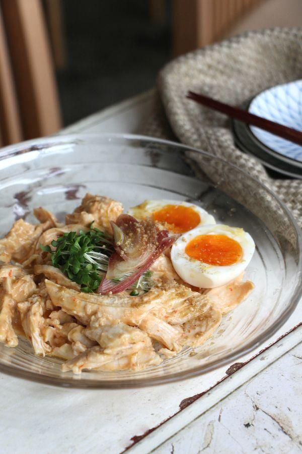 蒸鶏のごまみそマリネ by 高橋善郎 | レシピサイト「Nadia | ナディア」プロの料理を無料で検索