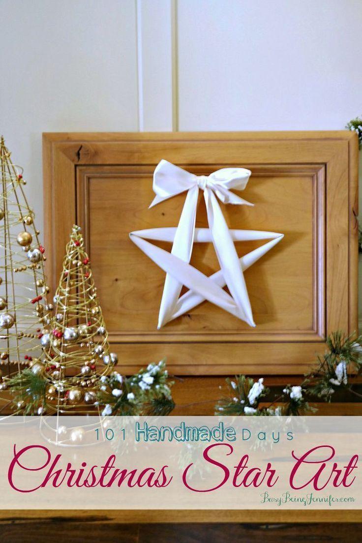 101 Handmade Days Christmas Star Art 603