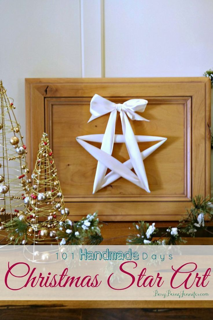 101 handmade christmas ornament ideas - 101 Handmade Days Christmas Star Art Christmas Starschristmas Craftsstar