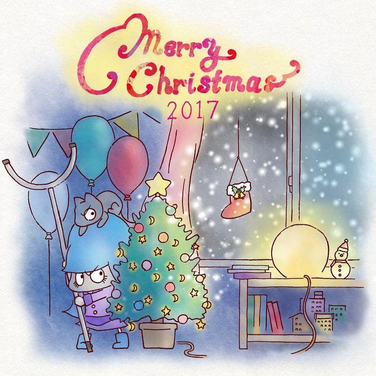 #サンタ捕獲大作戦 ・ ・ ・ ・ ・ #メリークリスマス🎄 #さすまた #トラップ #こんなクリスマスは嫌だ #いたずら猫 #1コマ漫画 #4コマ漫画 #4コマ #むむむちゃん #むむむ #むむむっ #せんぱい #ねこ #猫と子供 #イラスト #イラストレーション #落書き #art #artwork #illustration #graphicart #mumumu #catstagram #manga #design #cutekid #merrychristmas #santaclaus #merryxmas🎄