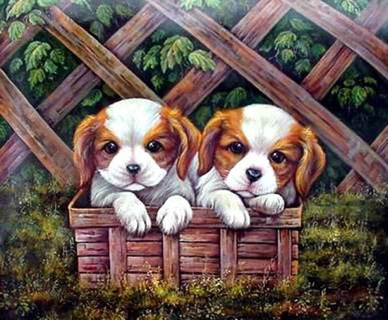 Aww!  I LOVE dogs!!!