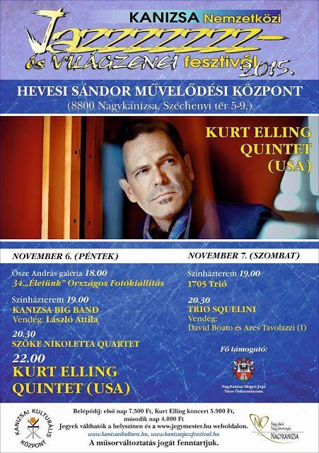Plakát104: Kanizsa Nemzetközi Jazz- és Világzenei Fesztivál 2...