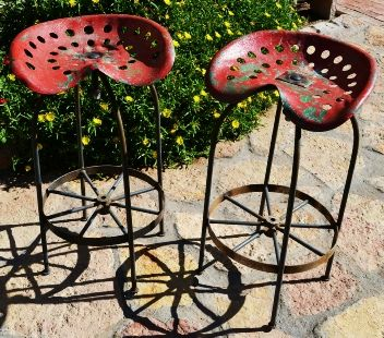 tractor seat barstools