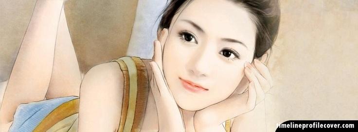 Dreaming Girl Facebook Cover