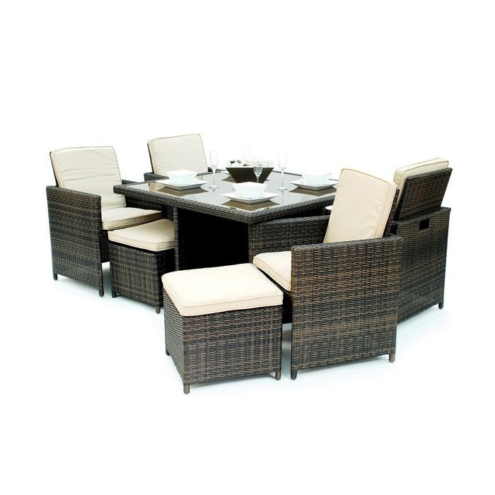 Compact patio set is great for small outdoor spaces - Kontiki madrid ...
