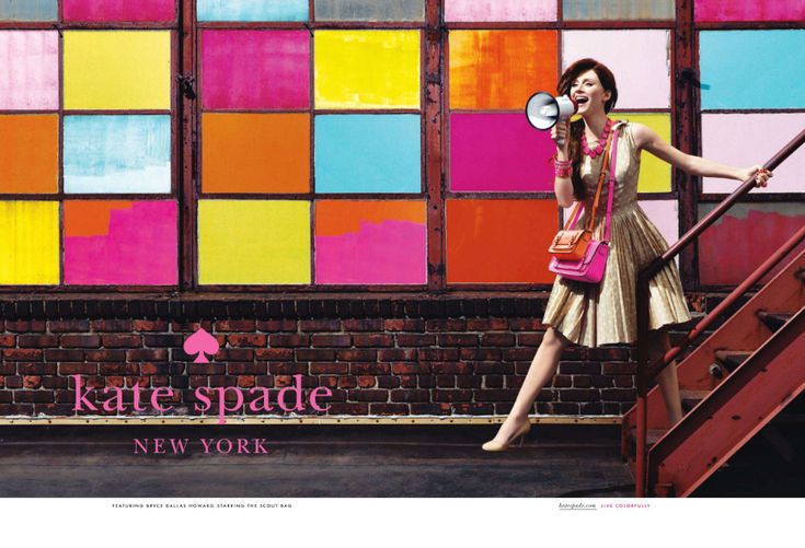 Kate Spade's 2011 Spring Ad Campaign featuring Bryce Dallas Howard; daughter of Opie