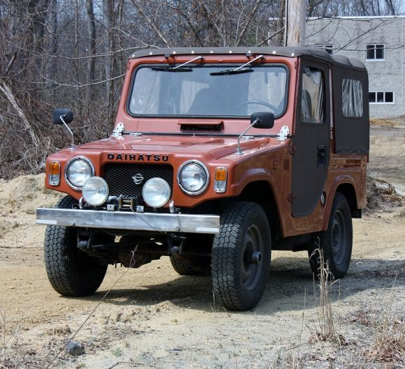 '76 Daihatsu Taft F10 4×4. Kinda silly but fun looking.