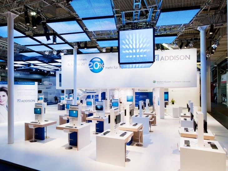 A Successful Appearance  On behalf of the Wolters Kluwer publishing group, TRIAD Berlin created an exhibition stand for the 2010 edition of...