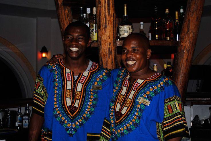 Zanzibar local bartenders!